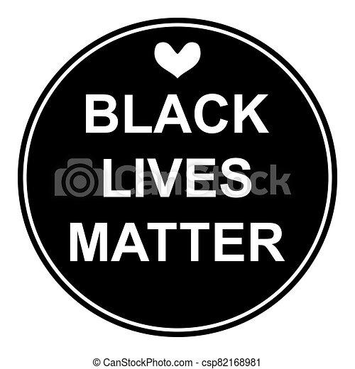 vidas, asunto, icon., negro - csp82168981