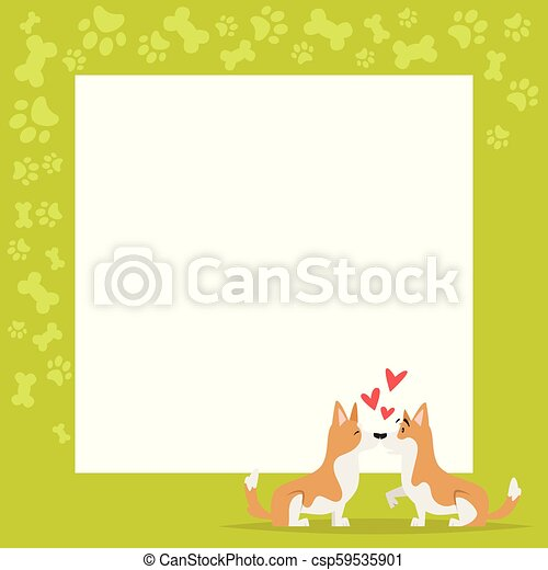 Vector cartoon style video and photo frame background for editing ...
