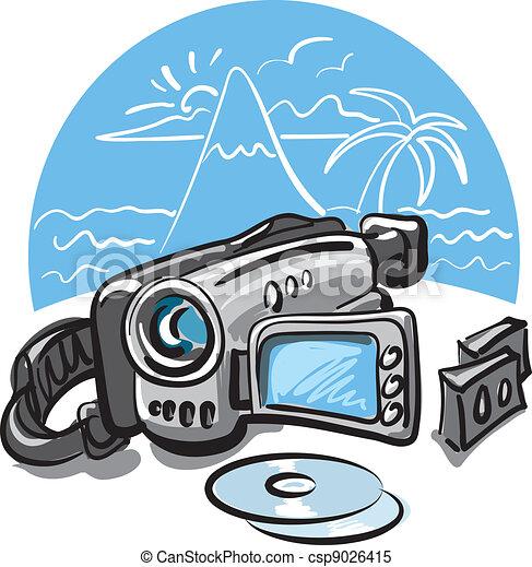 video camera rh canstockphoto com clipart pictures of video cameras clipart caméra vidéo