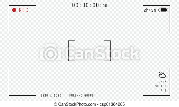 Video camera overlay