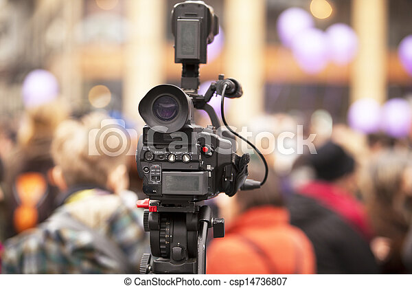 video camera - csp14736807