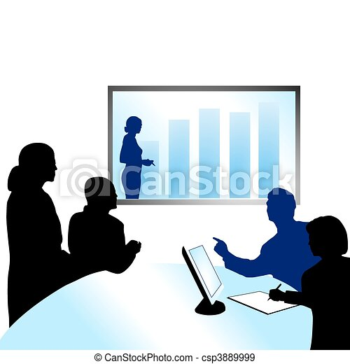 video conference - csp3889999