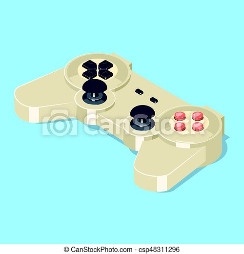 Video Game Gamepad Controller Gamepad Icon Video Game Controller