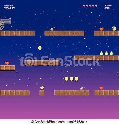 Video game location, arcade games - csp26168014