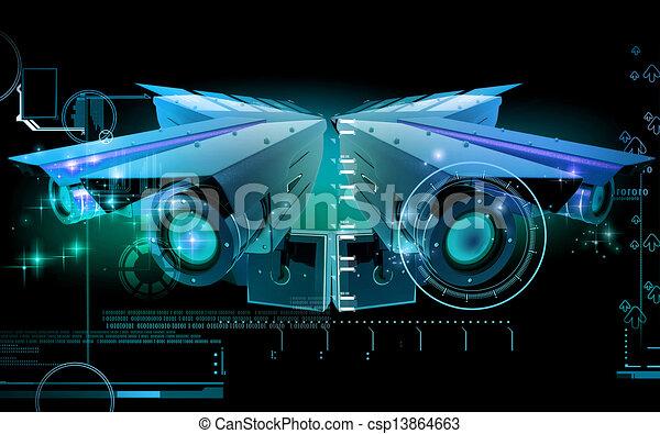 videobeveiliging - csp13864663
