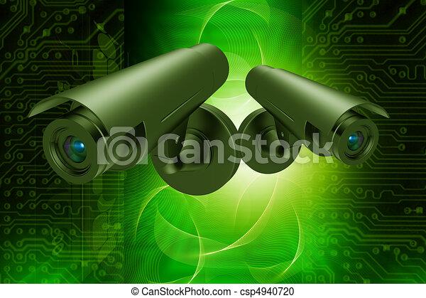 videobeveiliging - csp4940720