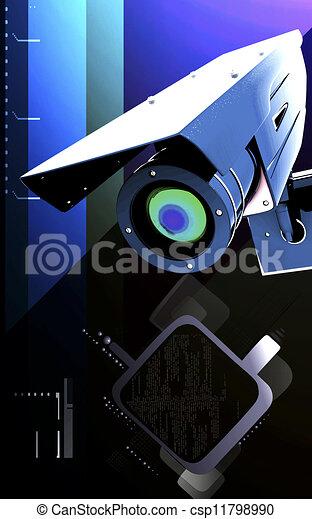 videobeveiliging - csp11798990