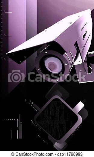 videobeveiliging - csp11798993