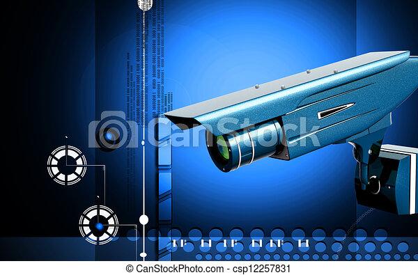 videobeveiliging - csp12257831