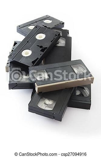 Videocassette - csp27094916