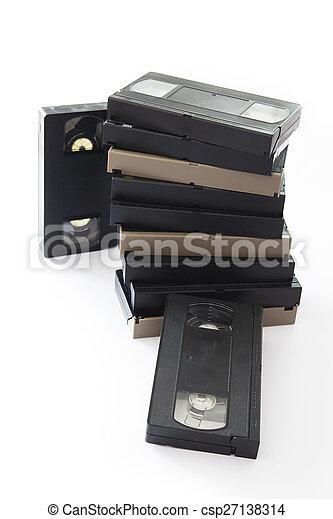 Videocassette - csp27138314