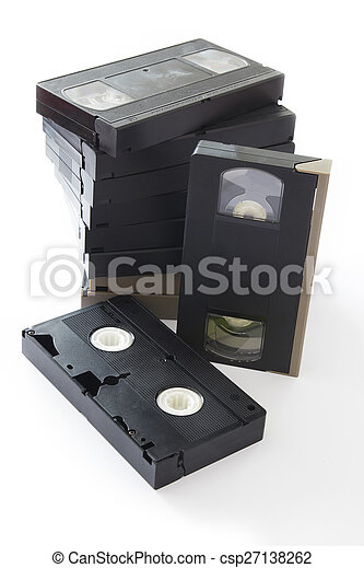 Videocassette - csp27138262