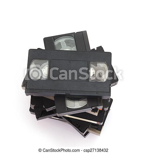 Videocassette - csp27138432