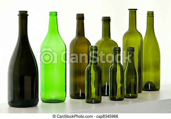 Botellas de vidrio - csp8345966