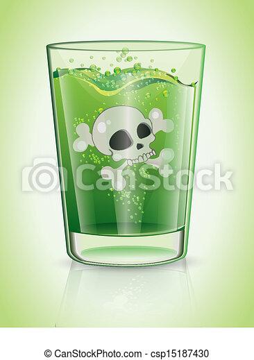 Un vaso de veneno - csp15187430