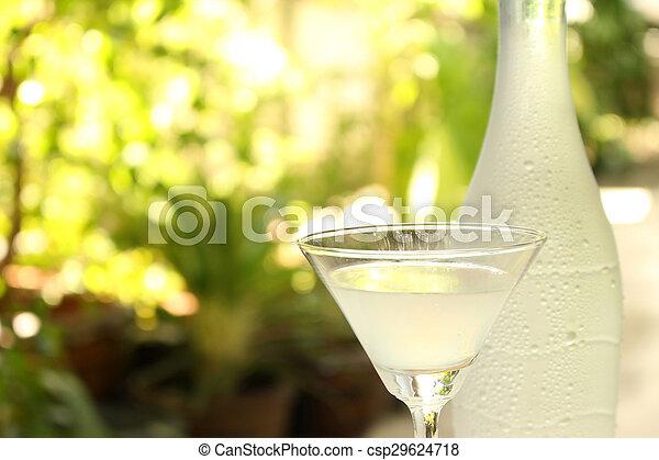 vidro, champanhe - csp29624718