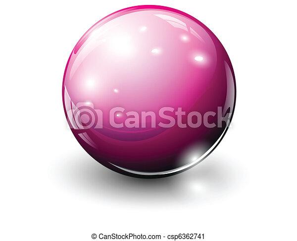 vidro, esfera - csp6362741