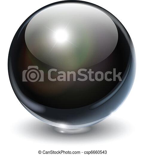 vidro, esfera - csp6660543