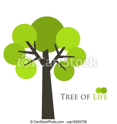 vie, arbre - csp16293708