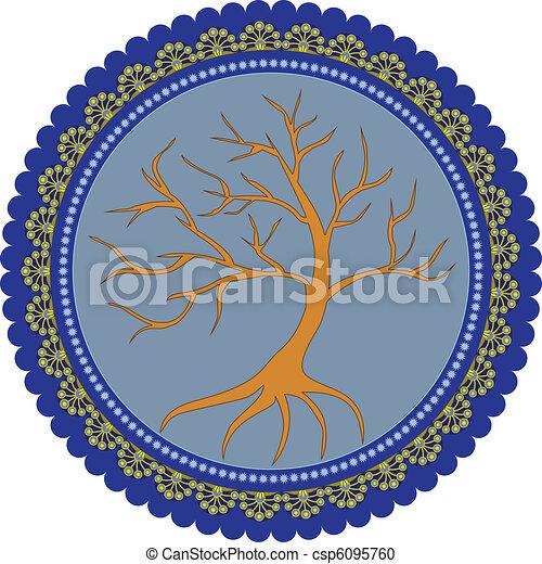 vie, arbre - csp6095760
