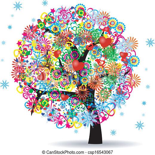 vie, arbre - csp16543067