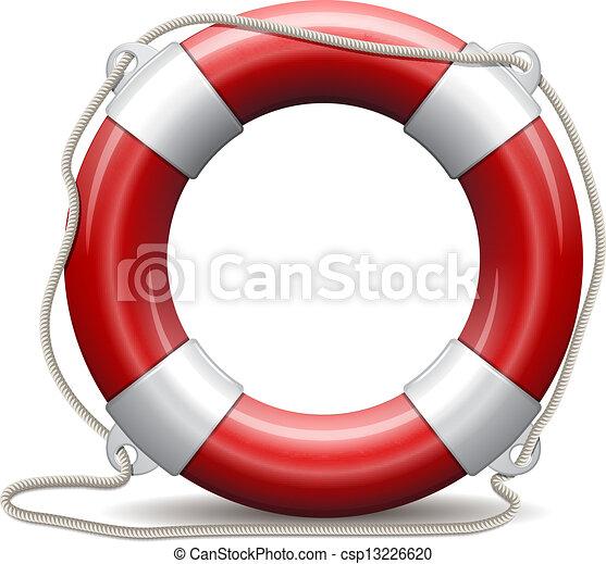 vie, buoy., rouges - csp13226620