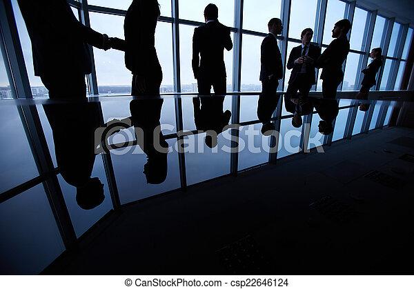 vie, business - csp22646124