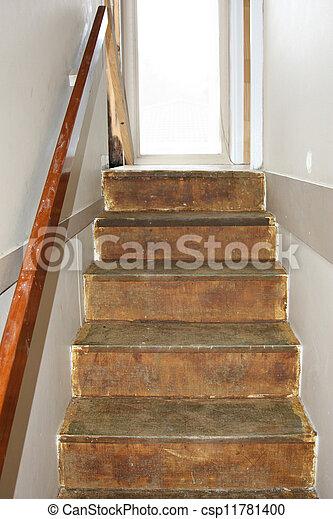 Los viejos pasos renovando - csp11781400
