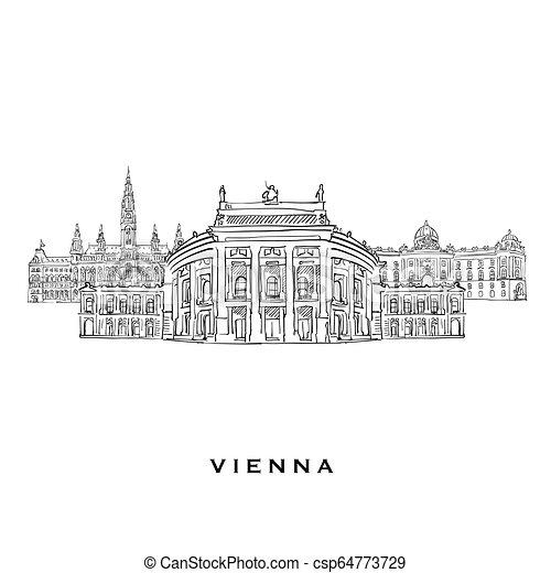 Vienna Austria famous architecture
