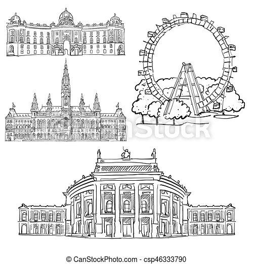 Vienna Austria Famous Buildings