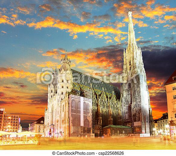 Vienna Stephansdom, Austria - csp22568626