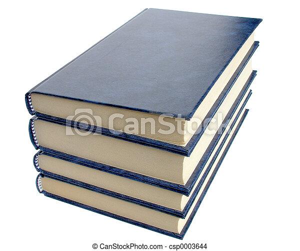 Vier Bücher - csp0003644
