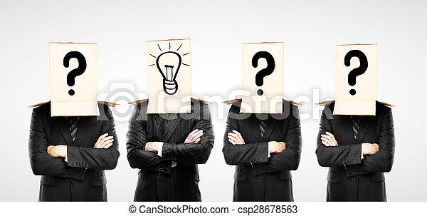 Vier Geschäftsmänner - csp28678563