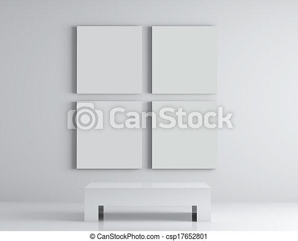 Vier Plakate - csp17652801