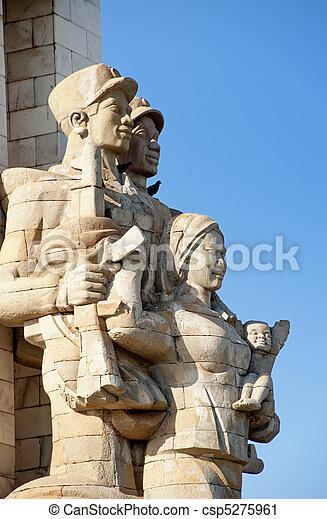 Vietnam Friendship Monument - csp5275961