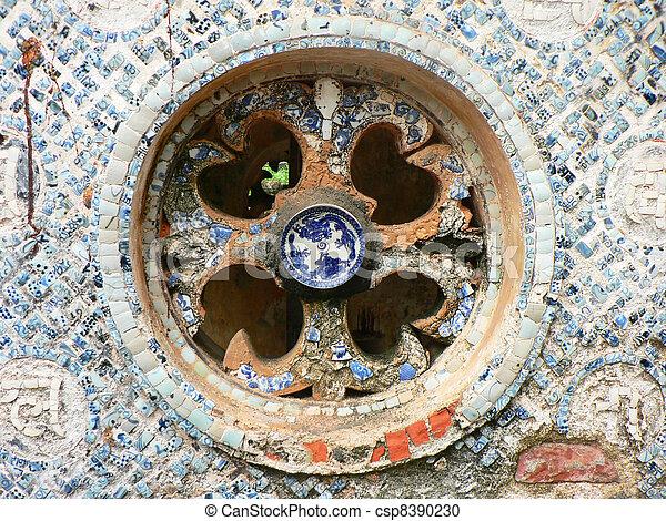 Templo en Vietnam. - csp8390230