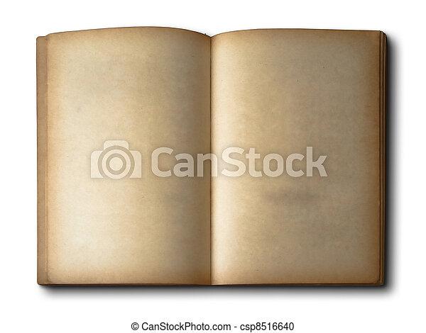Vieux Livre Ouvert