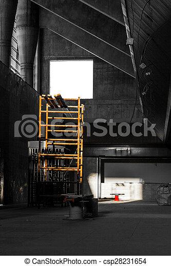 view a construction site - csp28231654