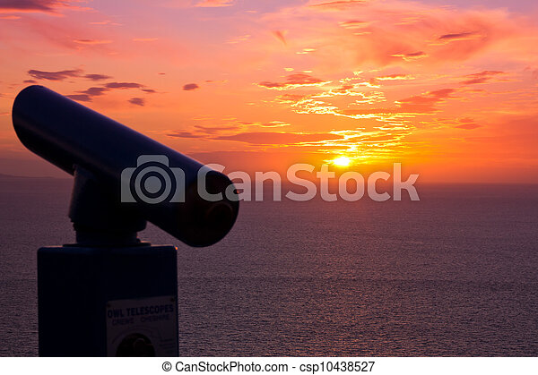 View across the Sea - csp10438527