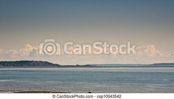 View from Discovery Park - csp10043542