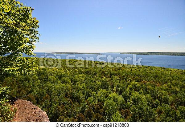 View from Escarpment - csp91218803
