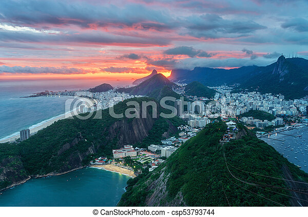 View from Sugarloaf Mountain - csp53793744