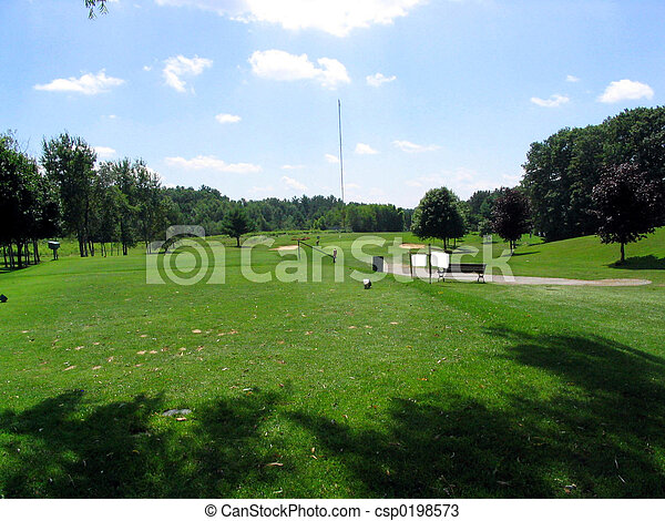 View from the tee - csp0198573
