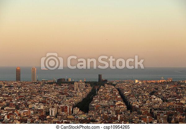 View of Barcelona - csp10954265