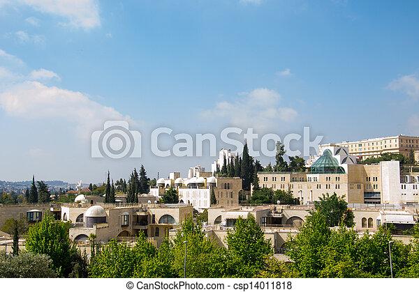 View of Jerusalem city - csp14011818