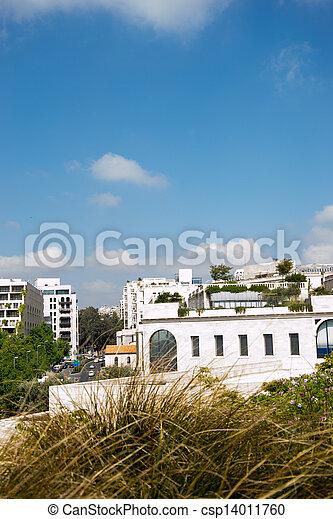 View of Jerusalem city - csp14011760