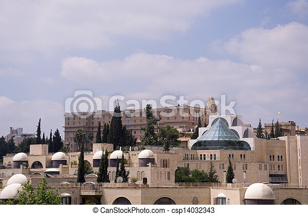 View of Jerusalem city - csp14032343