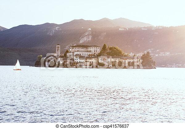 View of Lake Como - csp41576637