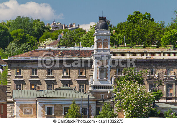 view of landmarks in Budapest - csp11832275