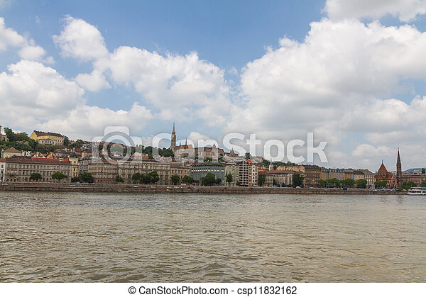 view of landmarks in Budapest - csp11832162